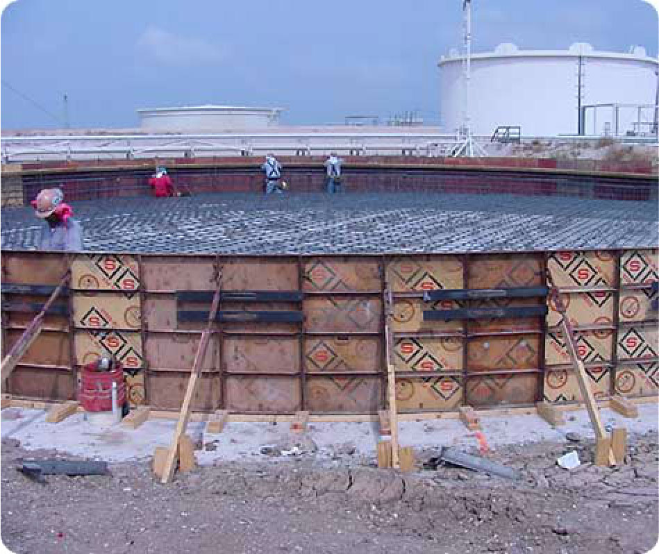 Storage Tank Foundation